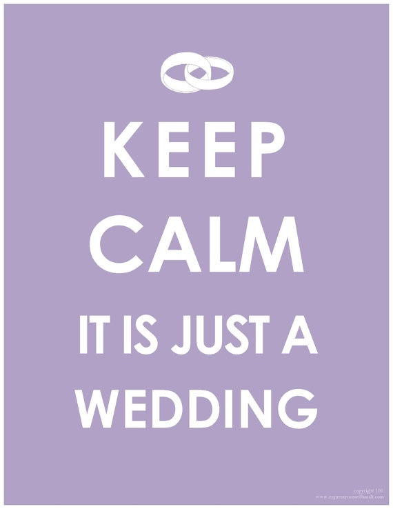 For all the bridezillas out there!