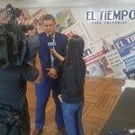 Daniel Andres Correa Posada en entrevista con el TIEMPO