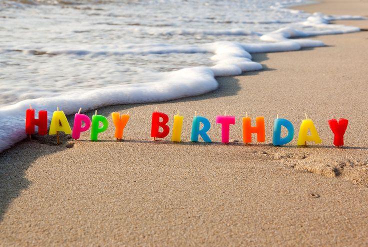happy 40 birthday ocean scenes   Happy, birthday, beach, sea, sand, congratulations, holiday wallpapers ..