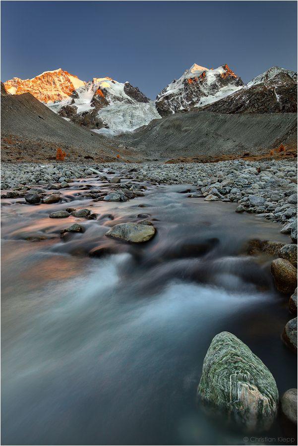 Piz Bernina by Christian Klepp