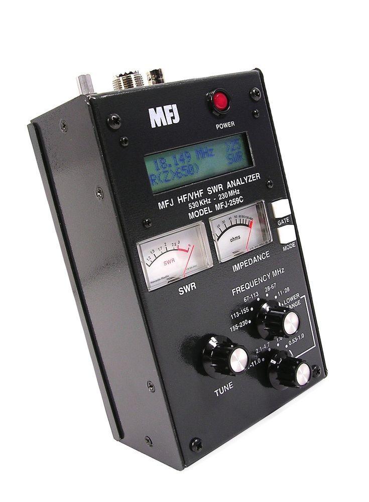 SWR Antenna Analyzer MFJ-259C HF VHF 0 53-230Mhz   Radio