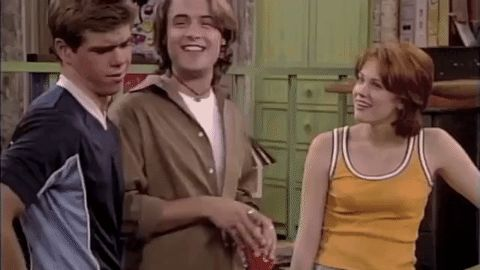 New trending GIF on Giphy. boy meets world mock mocking eric matthews will friedle muahaha. Follow Me CooliPhone6Case on Twitter Facebook Google Instagram LinkedIn Blogger Tumblr Youtube