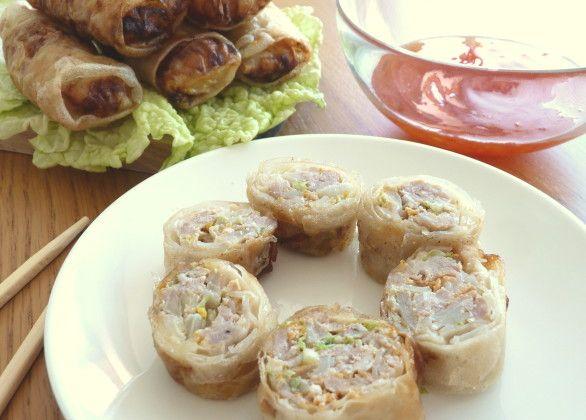 Vietnamské jarní závitky s mletým masem Chả giò. Ochutnejte svět // Blog mezinárodní kuchyně