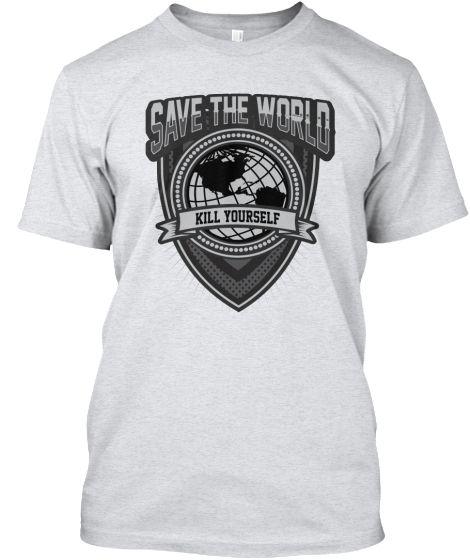 Save The World | Teespring
