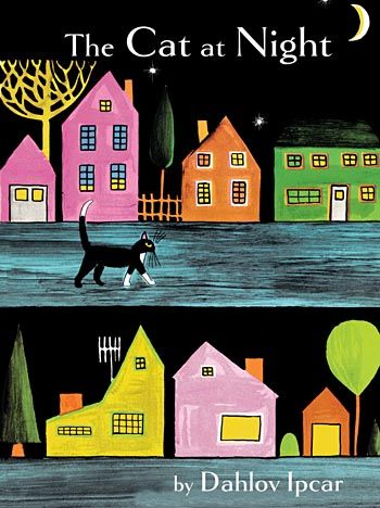 """""""The Cat At Night"""" by Dahlov Ipcar"""
