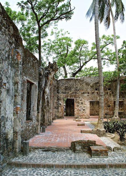 Antigua and Hernan Cortes Veracruz Mexico
