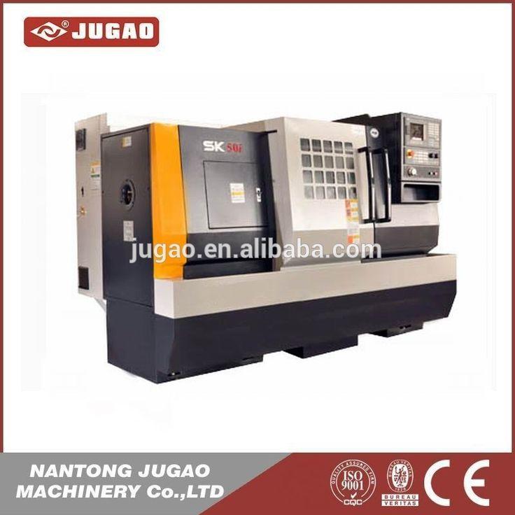 New cnc lathe machine 5-axis mini bench brake metal cnc used lathe machine price