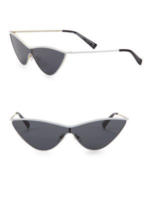 26fb08ed72a2 LE SPECS LUXE The Fugitive White Sunglasses.  lespecsluxe