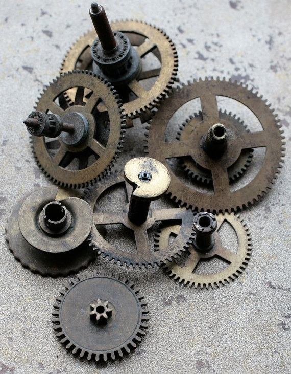 Old Clock Gears : Best images about gears cogs and other nicknacks on