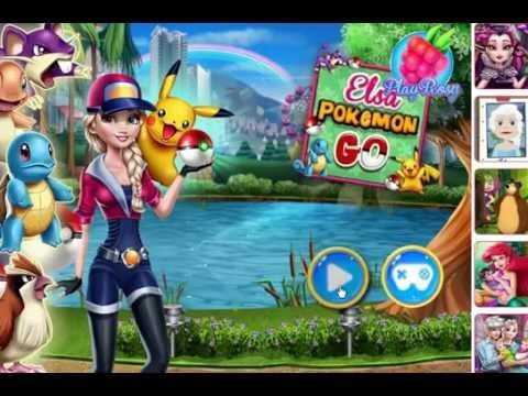 Elsa Pokemon Go | princess elsa catch all the pocemon | Free  Games Online