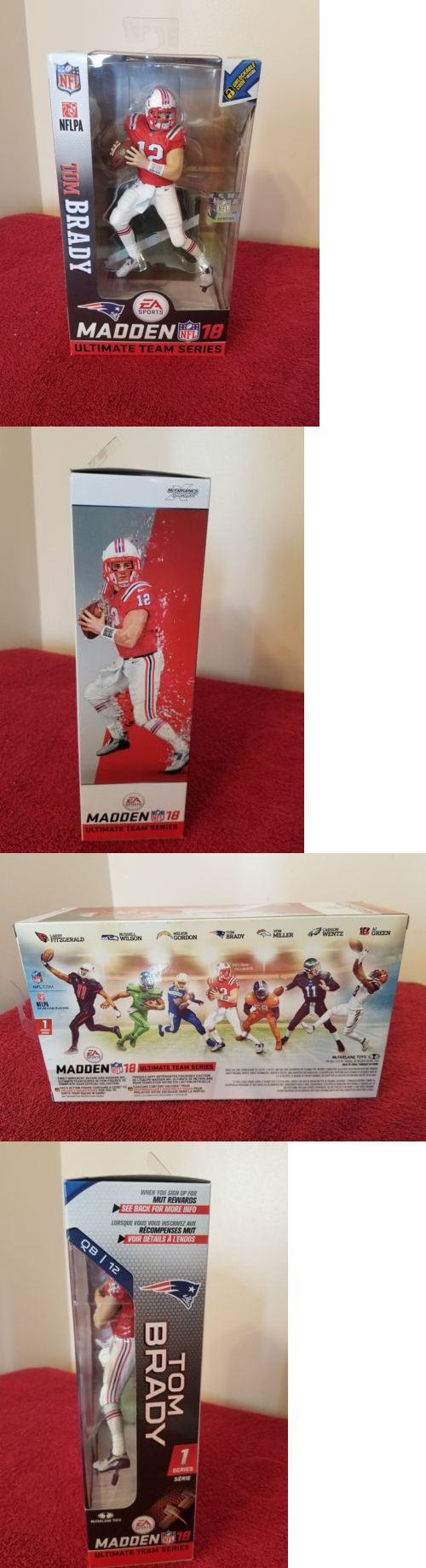 Sports 754: Wwe Madden 18 Ultimate Team Exclusive Tom Brady Figure. Rare. -> BUY IT NOW ONLY: $34.99 on eBay!
