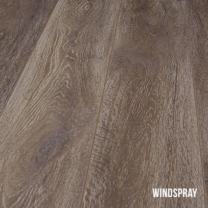 Heartridge Laminate Flooring in Smoked Oak, Windspray