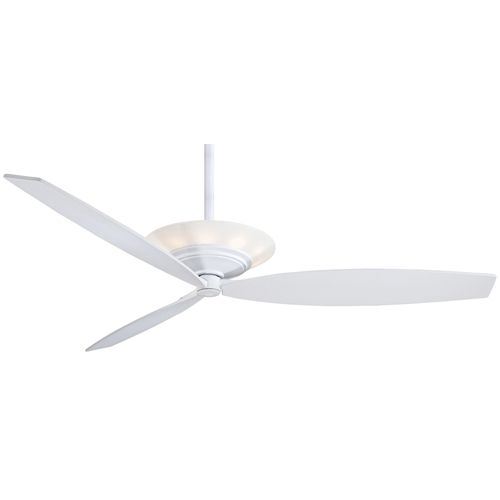 Moda White 60-Inch Ceiling Fan