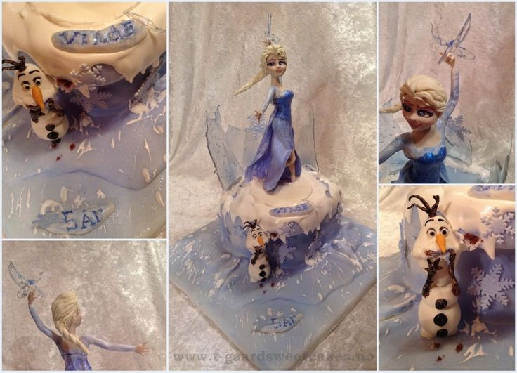 Elsa Disney Cake. Trucolor Natural foodcolors - isomalt - saracino modelling paste - royal icing .