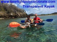 Transparent kayak, clear kayak, crystal kayak, polycarbonate kayak, PC kayak, transparent canoe, clear canoe, crystal canoe, polycarbonate canoe, PC canoe, see bottom kayak, see through kayak, kayak paddling, see bottom canoe, see through canoe, water sport kayak