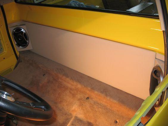 73-87 Cab Corner 6x9 Speaker Brackets: