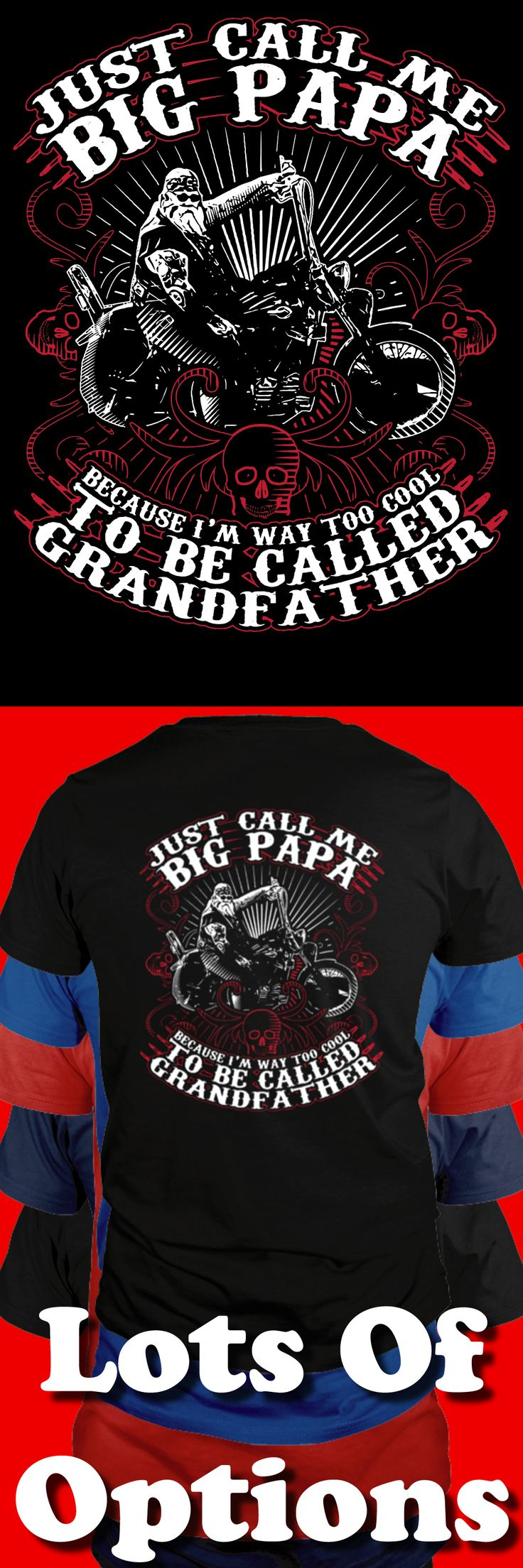 Biker Shirt: Are You A Big Papa Biker? Great Motorcycle Gift! Lots Of Sizes & Colors. Like Custom Motorcycles, Baggers, Choppers, Harley Davidson or the Biker Life? Strict Limit Of 5 Shirts! Treat Yourself & Click Now! https://teespring.com/GP67-425