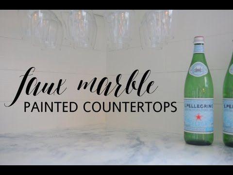 Countertop Paint Brands : tiles countertops fixer upper painted countertops countertop paint ...