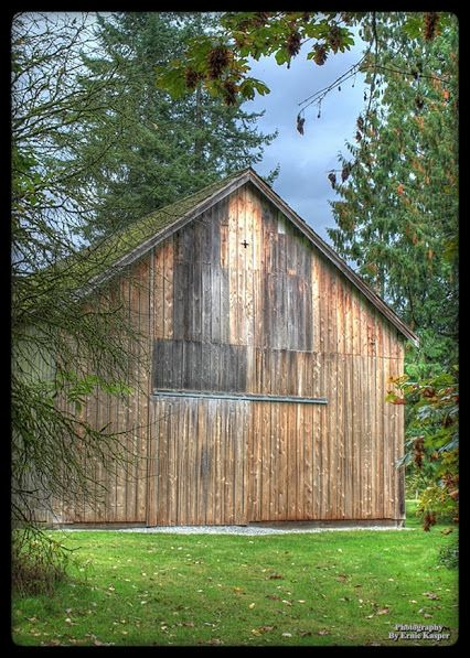 ~Derby Barn~By Ernie Kasper #photography   #barn   #old   #weathered   #character   #structure   #derby   #fraservalley   #photo   #photooftheday