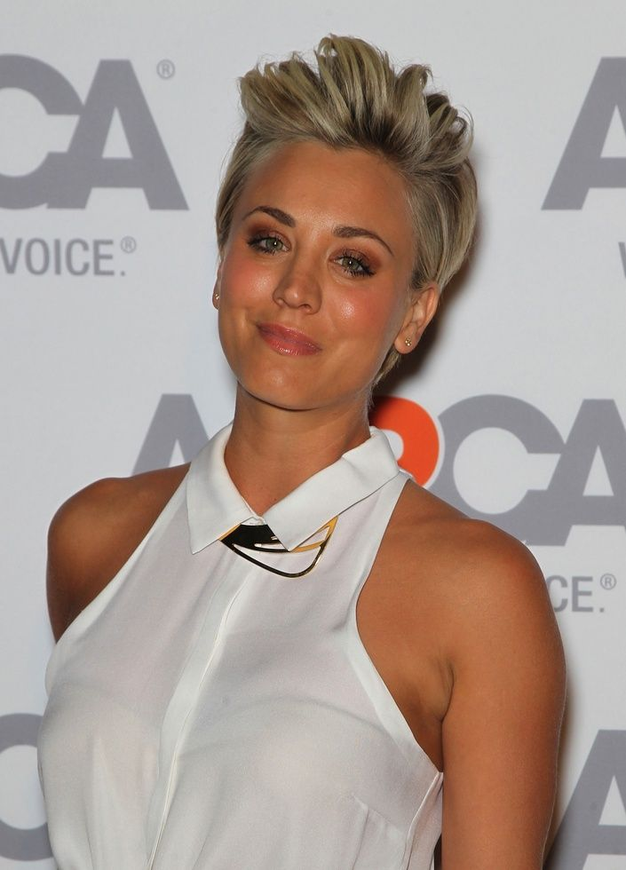 49 best images about Kaley Cuoco - Short Hair Inspiration