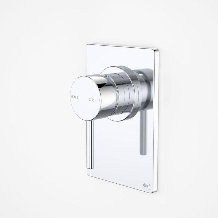 Dorf | Mixer Taps - Kytin - Kytin Rectangular Plate Bath/Shower Mixer