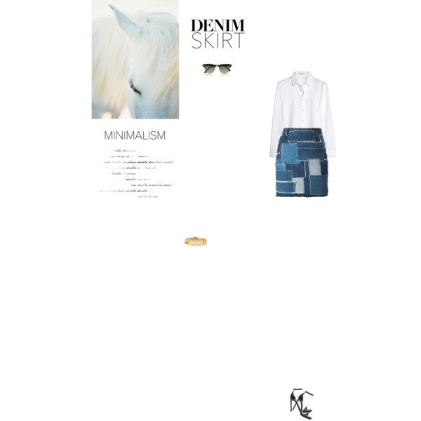 Bez tytułu #84 by izabelmaz on Polyvore featuring moda, Yves Saint Laurent, Tiffany & Co. and Ray-Ban