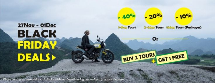 Black Friday 2015 = Big Tour Discounts on http://vietnamcheappackages.com. It's not only on 1 day, but lasts till 01 December. #blackfriday #vietnam #tourdiscounts #promotions