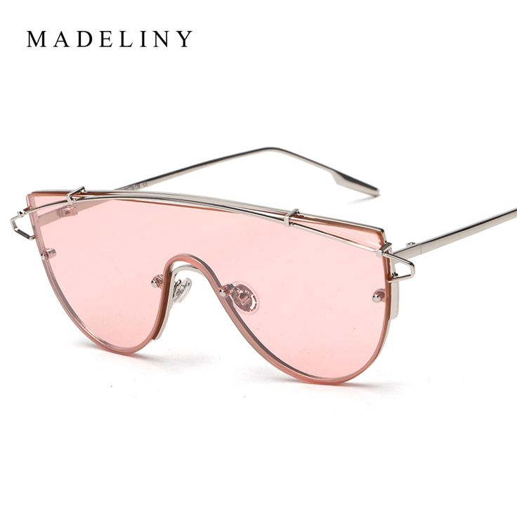Small Slim Sunglasses Women Brand Designer Elegant Pink Clear Lens Sun Glasses Shades GpsOtsjJ7u