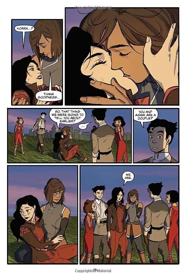 The Legend of Korrasami — wolf-of-caos: I never thought I needed this until...