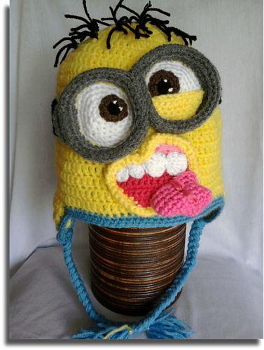 Ravelry: Crazy minion hat pattern by Mistybelle Crochet