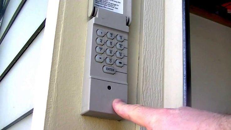 Garage Door Keypads Safe