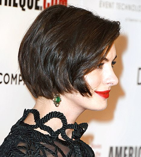 Anne Hathaway Is Finally Growing Out That Pixie: Hairstyle Pictures - Us Weekly