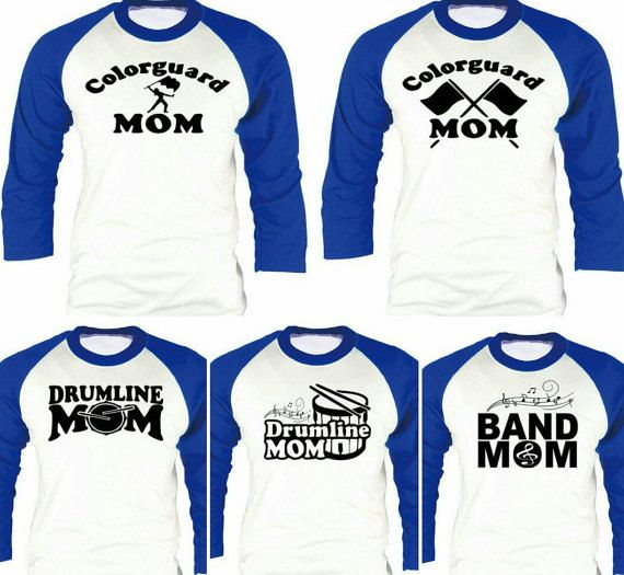 Check out this item in my Etsy shop https://www.etsy.com/listing/264218449/color-guard-band-mom-shirts