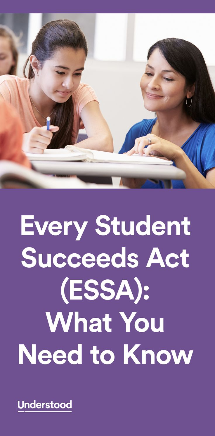 Every Student Succeeds Act (essa): What You Need To Know