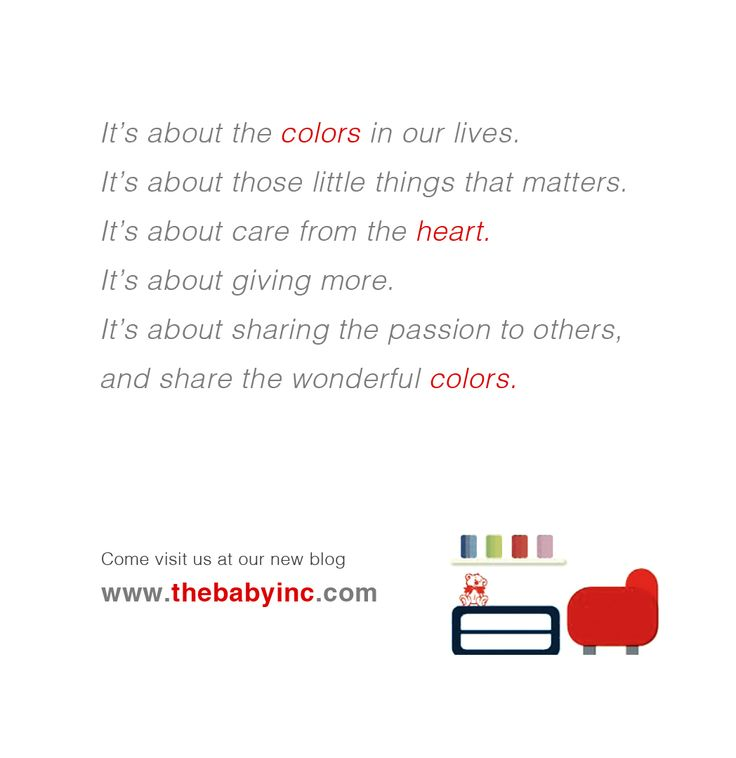It's about the colors in our lives. It's about those little things that matters. It's about care from the heart. It's about giving more. It's about sharing the passion to others, and share the wonderful colors.  Ini tentang warna-warna dalam kehidupan kita. Ini tentang hal-hal kecil namun penting. Ini tentang kasih dari hati. Ini tentang memberi lebih. Ini tentang berbagi dengan sesama, dan membagi warna-warna yang indah.  Subscribe Newsletter http://www.thebabyinc.com/#!subscribe/c1kdb