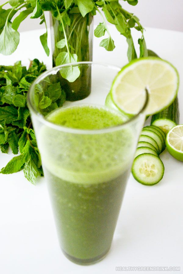 The Healthy Green drink smoothie ...yummy
