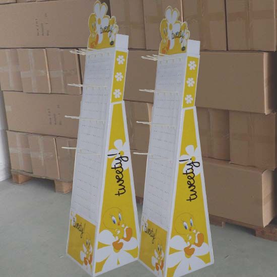 Product name : pop sidekick display hanging Item : P-SDS218 USD$ : 9.8 MOQ : 100sets, small order acceptable Sample Time : 1-4days Leading Time : 10-12days Materials : 350gsm grey back+corrugated paper+plastic hanging hooks Color Printing : CMYK offset printing Surface Process : aqueous varnish Packing Method : each pc in export carton Capacity : 6.2kg - See more at: http://www.dump-bin.com/pop-sidekick-display-hanging-p234.html