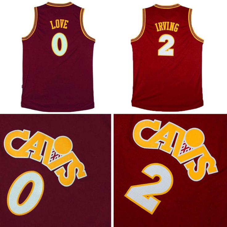 competitive price 8c262 4da7a ... Aliexpress.com Buy Kyrie Irving 2 2016 CAVS Red Retro Basketball Jersey  Kevin ...