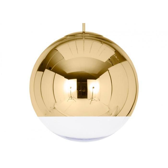 Tom Dixon MBB50G-PEUM1 — Потолочный подвесной светильник Mirror Ball Gold 50cm