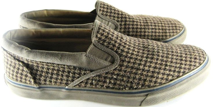 Sperry Top Sider Men Loafers Size 12 M Green Brown.  RRR 52 #SperryTopSider #LoafersSlipOns