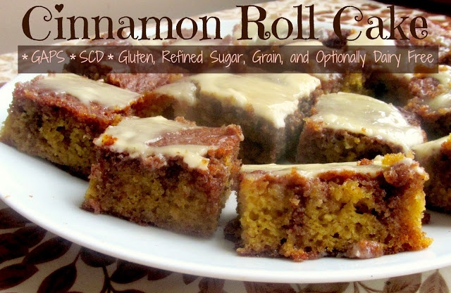 Cinnamon Roll Cake  #SweetKissesandDirtyDishes