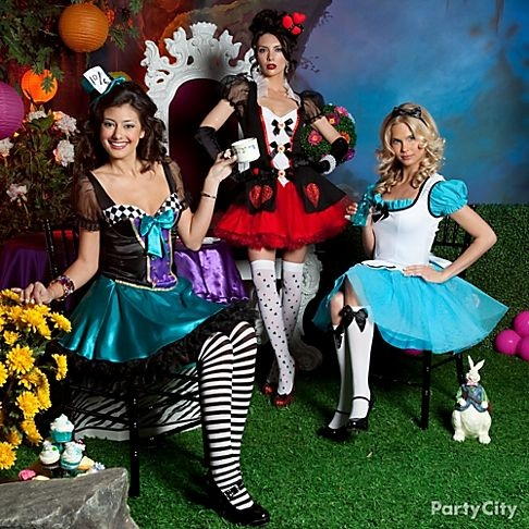 alice in wonderland costumes top our list of fave group costume ideas of all time - List Of Halloween Costumes Ideas