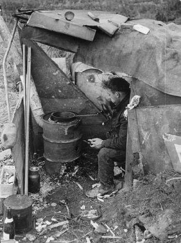 Theo Frey   Unemployed person, Garbage dump, Zurich   1936