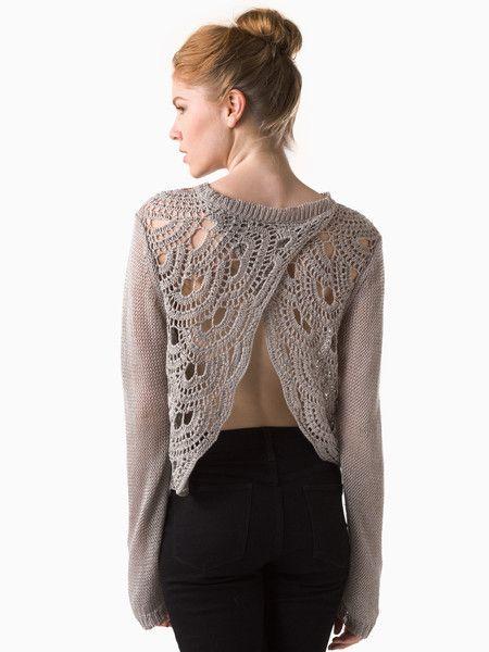 Crochet Wrap Back