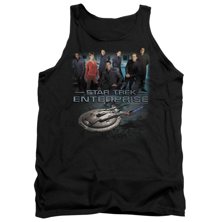"""Checkout our #LicensedGear products FREE SHIPPING + 10% OFF Coupon Code """"Official"""" Star Trek / Enterprise Crew - Adult Tank - Star Trek / Enterprise Crew - Adult Tank - Price: $29.99. Buy now at https://officiallylicensedgear.com/star-trek-enterprise-crew-adult-tank"""