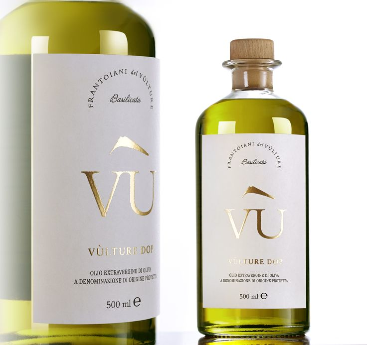 A new identity and packaging for Olio Vù, the first Vulture DOP in Basilicata. Concept & Design by Hangar Design Group