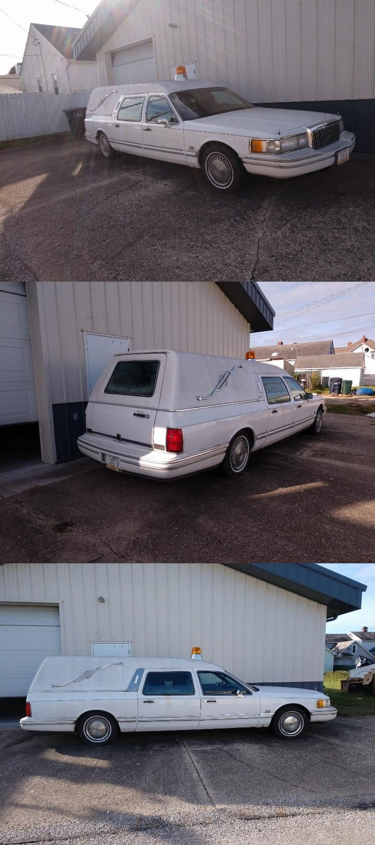 Solid 1991 Lincoln Town Car Executive Hearse Hearses For Sale