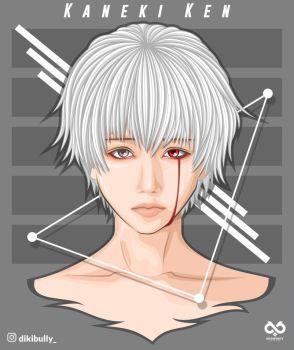 Kaneki Tokyo Ghoul FanArt (2) by Dikibully