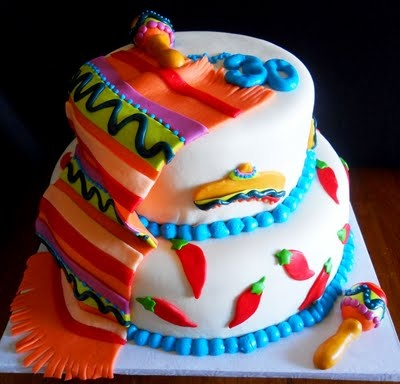 Mexican party cake