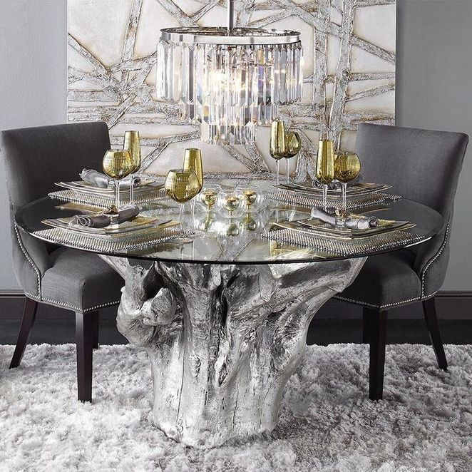 37 What Gold And Silver Dining Table Is And What It Is Not